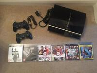 PlayStation 3 (PS3) 80gb + controller + games