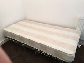 Single Bed and MATTRESS - Must go urgent