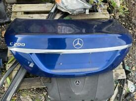 Mercedes c class w205 Bootlid in blue