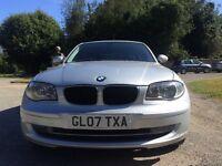 BMW 1SERIES 2 litre diesel MOT 12 months