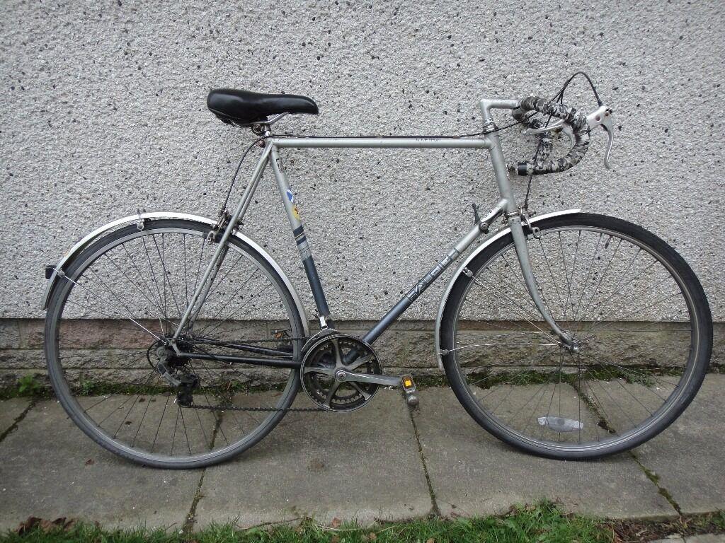 Raleigh Nova retro road bike, 700 wheels, 10 gears, 25 inch frame ...