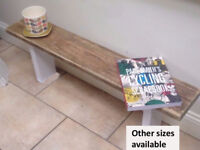 3ft Reclaimed wooden seating dining room kitchen bench