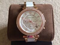 Michael Kors Ladies Watch (MK5774) perfect condition, complete with box