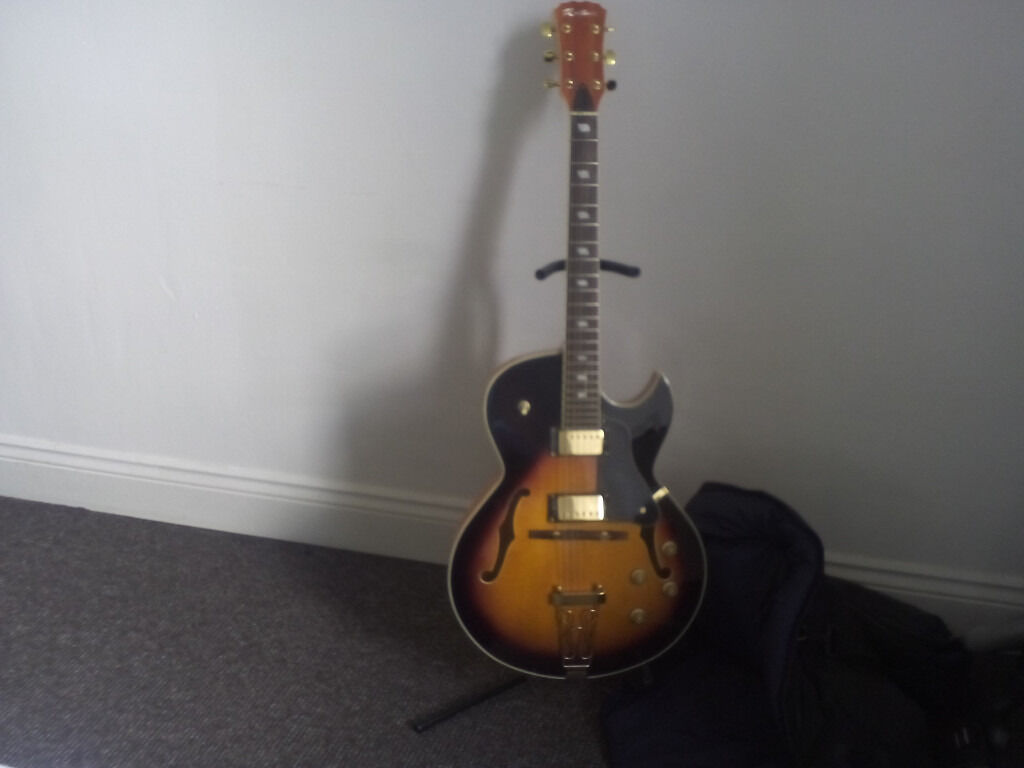 Archtop Thinline Jazz Guitar