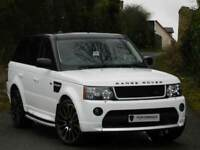 AUTOBIOGRAPHY!! RANGE ROVER SPORT 2.7 WHITE - BESPOKE BODYKIT & ALLOYS - FINANCE AVAILABLE-STUNNING