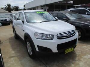 2011  HOLDEN CAPTIVA 7 SEATER TURBO DIESEL SERIES11 SX WAGON Young Young Area Preview