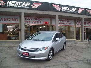 2012 Honda Civic LX AUT0 A/C CRUSIE ONLY 92K