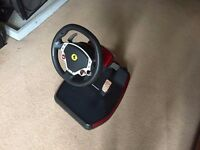 PS3/PC Thrustmaster ferrari 430 scuderia steering wheel