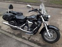 Yamaha Midnightstar - truly fantastic cruiser in outstanding condition with heated grips