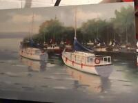 Lovely large canvas great condition