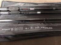 Avanti RDX 3 Waggler Rod - Coarse Fishing Rod Waggled Float Fishing Rod & Bag