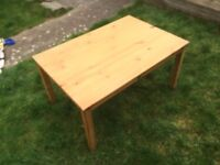 Small Wood Coffee Table, Side Table, Bedside Table, Child's Table