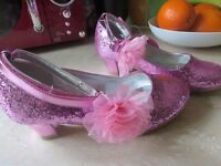 Girl's sparkle club shoes (pink) brand new, size 1