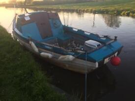 Fishing Boat Honda 4 Stroke Outboard