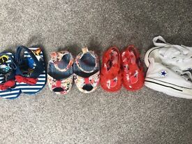 Baby girl shoe bundle 0-6 months