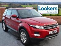 Land Rover Range Rover Evoque SD4 PURE (red) 2014-01-24