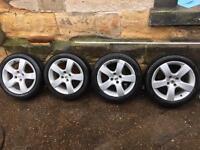 Peugeot 307 alloy wheels 17inch