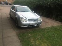 mercedes C180 sport Kompressor for sale or swap for only automatic car