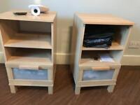 Matching pair of IKEA bedside table