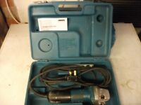 MAKITA 115MM GRINDER COMES WITH CARRY CASE AND CHANGE OVER TOOL WELL USED