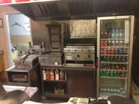 Fish and chip , doner kabab , fry chicken shop equipment