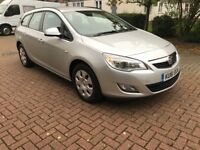 Vauxhal Astra 2012 esteate 1.7cdti 1owner from new full service history