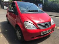 mercedes a160 2001 1.6 petrol red breaking for spares - wheel nut