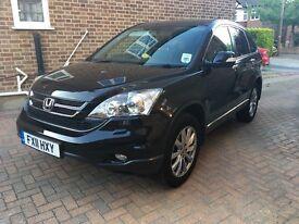 2011 Honda CRV iDTEC EST, Black, excellent condition, 40,000 miles, FSH, quick sale required