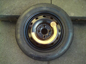 Fiat Space Saver Wheel & Tyre 135/80 14 – New – 4x100 pcd suit Trailer Spare