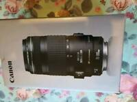 Canon lens EF 70-300 f/4-5.6 IS USM