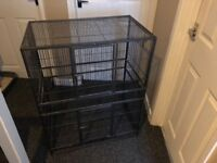 Used Rodent cage Used for chinchilla Can be also used for ferret rats