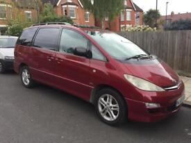 Toyota previa diesel 7 seater