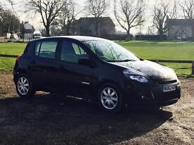 RENAULT CLIO 'EXPRESSION PLUS' (2013 MODEL) '1.5 DCI - A/C - ELEC PACK' (1 OWNER FROM NEW) 60 MPG+