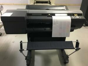 "Canon imagePROGRAF iPF6400 6400 24"" Wide Format Graphic Arts Printer Printing Shop Copy Machine REPOSSESSED LIKE NEW"
