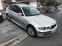 BMW 3 series compact silver.