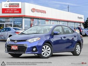 2014 Toyota Corolla S Toyota Certified, One Owner, No Acciden...