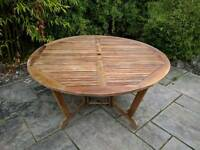 6 seater Patio table