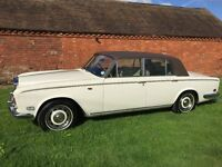 ROLLS ROYCE SILVER SHADOW,1975, old english white,wedding car the last 14 years,superb condition!