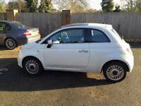 Automatic Fiat 500, 31787 miles, full service history and MOT, 1 owner
