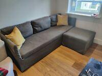 Sofa - Ikea Brathult 3-Seat Corner Grey