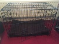 """30"""" dog crate cage includes mat"""