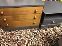 STAG chest of drawers (rustic style)