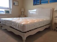 Super king size mattress from Feather & Black - only used for one month! Excellent condition