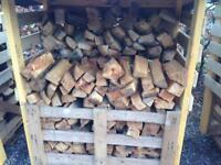 Logs, firewood, hardwood and softwood