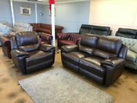 Oak furniture power electric recliner sofas