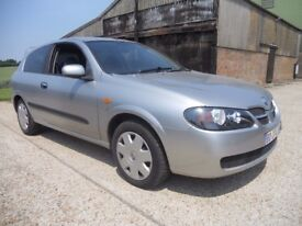 Nissan Almera 2.0 Turbo Diesel French Registered RHD 2004 Drive Away
