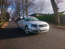 Audi TT 1.8T Quattro FSH long MOT excellent condition throughout