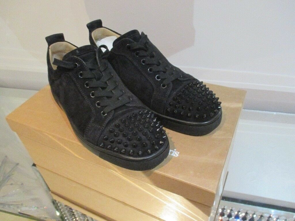 d0d2286210b AUTHENTIC CHRISTIAN LOUBOUTIN LOUIS JUNIOR SPIKES MENS SNEAKERS SIZE 41  BOXED | in Kirkdale, Merseyside | Gumtree