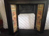 Victorian Fireplace + Fire Surround £250 (ono)