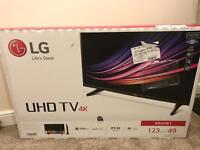 LG UHD TV 4K HDR Pro 49inch 49UH61 brand new
